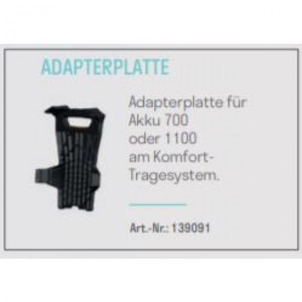 Adapterplatte für Pellenc Akku 700